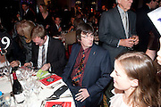 IAN RANKIN, Specsavers Crime Thriller Awards.  Award ceremony celebrating the best in crime fiction and television. <br /> Grosvenor House Hotel, Park Lane, London. 21 October 2009