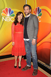 March 8, 2018 - New York, NY, USA - March 8, 2018  New York City..Rosie Perez, Josh Radnor attending arrivals for the 2018 NBC NY Midseason Press Junket at Four Seasons Hotel on March 8, 2018 in New York City. (Credit Image: © Kristin Callahan/Ace Pictures via ZUMA Press)