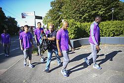 September 18, 2018 - Na - Castrop-Rauxel, 18/09/2018 - Morning walk of the Fc Porto next to the Hotel Vienna House Easy Castrop-Rauxel, Germany. Ot√°vio, Milit√£o, Brahimi, Marega  (Credit Image: © Atlantico Press via ZUMA Wire)