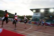Super 8 athletics at the Cardiff International Stadium on Wed 10th June 2009
