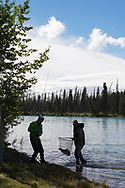Salmon fishing at the Kenai River, Alaska<br /> <br /> Photographer: Christina Sjögren<br /> <br /> Copyright 2019, All Rights Reserved