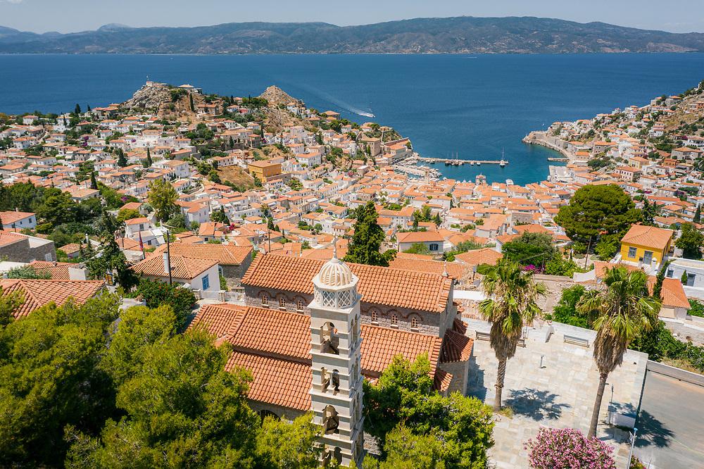 Church of Saint Constantine at Hydra Island, Greece