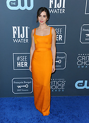 Alison Brie at the 25th Annual Critics' Choice Awards held at the Barker Hangar in Santa Monica, USA on January 12, 2020.