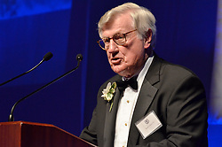 Harris Ashton '54, Honoree, Blue Leader '11, Yale University Athletics. Ball and Awards Presentation, Lanman Center, Payne Whitney Gymnasium.