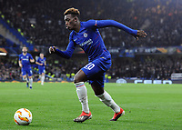 Football - 2018 / 2019 Europa League - Group L: Chelsea vs. PAOK Salonika<br /> <br /> Callum Hudson - Odoi of Chelsea at Stamford Bridge.<br /> <br /> COLORSPORT/ANDREW COWIE