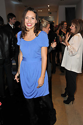 JESSICA BOWEN at a party to launch pop-up store Oxygen Boutique, 33 Duke of York Square, London SW3 on 8th February 2011.