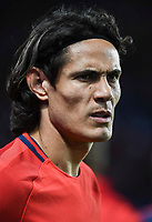 Edinson Cavani of PSG during the Uefa Champions League match between Paris Saint Germain and Fc Bayern Muenchen on September 27, 2017 in Paris, France. (Photo by Anthony Dibon/Icon Sport)