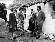 Brendan Behan in Connemara. 10/06/1959