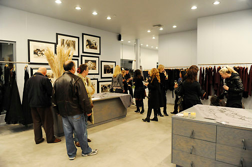 LOS ANGELES - OCTOBER 21:  A general view of the Morgane Le Fay Trunk Show Photography Event in Malibu, Los Angeles, CA
