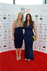 LIVERPOOL, ENGLAND - Thursday, May 12, 2016: Liverpool xxxx and xxxx arrive on the red carpet for the Liverpool FC Players' Awards Dinner 2016 at the Liverpool Arena. (Pic by David Rawcliffe/Propaganda)