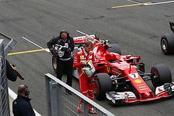 July 15, 2017 - Silverstone, Great Britain - Motorsports: FIA Formula One World Championship 2017, Grand Prix of Great Britain, ..#5 Sebastian Vettel (GER, Scuderia Ferrari) (Credit Image: © Hoch Zwei via ZUMA Wire)