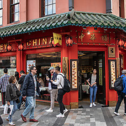 New China in London Chinatown Sweet Tooth Cafe and Restaurant at Newport Court and Garret Street on 15 June 2019, UK.