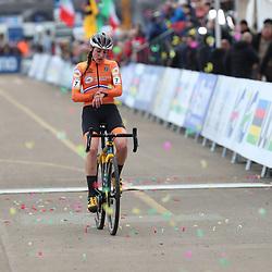 01-02-2020: Wielrennen: WK Veldrijden: Dubendorf <br />Lucinda Brand