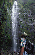 Waterfall, Hawaii<br />