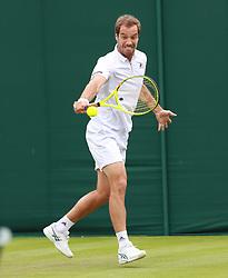 July 4, 2017 - Wimbledon, England, Angleterre - richard gasquet (Credit Image: © Panoramic via ZUMA Press)