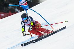 Ekaterina Tkachenko (RUS) during Ladies' Giant Slalom at 57th Golden Fox event at Audi FIS Ski World Cup 2020/21, on January 17, 2021 in Podkoren, Kranjska Gora, Slovenia. Photo by Vid Ponikvar / Sportida