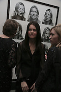 CORINNE DAY, Face of Fashion private view. National Portrait Gallery. London. 12 February 2007.  -DO NOT ARCHIVE-© Copyright Photograph by Dafydd Jones. 248 Clapham Rd. London SW9 0PZ. Tel 0207 820 0771. www.dafjones.com.