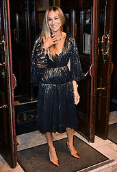 May 29, 2019 - London, London, United Kingdom - Sarah Jessica Parker attend press night for The Starry Messenger following an astronomer who's forced to re-evaluate his life and faith following a catastrophic event at Wyndham's Theatre.. The Starry Messenger press night. (Credit Image: © Nils Jorgensen/i-Images via ZUMA Press)