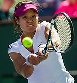 Tennis: BNP Paribas Open 2014 Na Li vs Jie Zheng