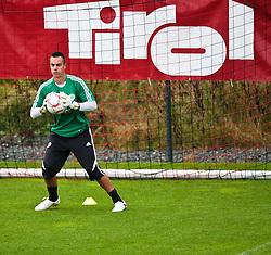 18.07.2010, Stadion Wilder Kaiser, Going, AUT, VFL Wolfsburg Training, im Bild Diego Benaglio, VFL Wolfsburg (# 1), Tirol Werbung, EXPA Pictures © 2010, PhotoCredit: EXPA/ J. Feichter / SPORTIDA PHOTO AGENCY