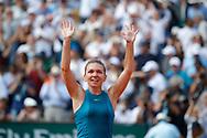 Simona HALEP (ROU) won the women final during the Roland Garros French Tennis Open 2018, Final Women, on June 9, 2018, at the Roland Garros Stadium in Paris, France - Photo Stephane Allaman / ProSportsImages / DPPI
