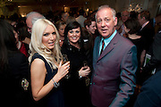 EMMA NOBLE; MICHAEL BARRYMORE, Book launch party for the paperback of Nicky Haslam's book 'Sheer Opulence', at The Westbury Hotel. London. 21 April 2010