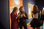 VERONICA BURGESS, MAGDALENA WAHID,     The George Michael Collection drinks.  Christie's, King St. London, 12 March 2019
