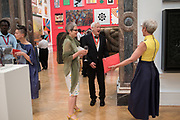 LISA MILROY, MICHAEL CRAIG-MARTIN, MARIA BALSHAW, 2019 Royal Academy Annual dinner, Piccadilly, London.  3 June 2019