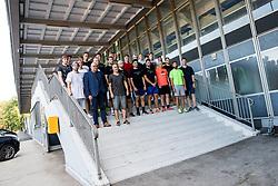Players during arrival of athletes of HK SZ Olimpija before Season 2019/20, on July 29, 2019 in Hala Tivoli, Ljubljana, Slovenia. Photo by Matic Klansek Velej / Sportida