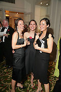 FIONA WILSON, FRANCESCA TARRANT AND POLLY WILSON.  Grosvenor House Art & Antiques Fair charity gala evening in aid of Coram Foundation. Grosvenor House. Park Lane. London. 14 June 2007.  -DO NOT ARCHIVE-© Copyright Photograph by Dafydd Jones. 248 Clapham Rd. London SW9 0PZ. Tel 0207 820 0771. www.dafjones.com.
