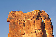 Sheep Rock, Courthouse Towers area, Arches National Park, Utah.