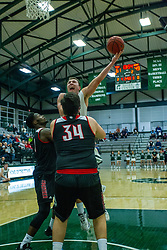 BLOOMINGTON, IL - November 12: Charlie Bair during a college basketball game between the IWU Titans  and the Blackburn Beavers on November 12 2019 at Shirk Center in Bloomington, IL. (Photo by Alan Look)