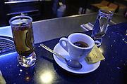 Espresso and sambuca, Palermo in Sicily