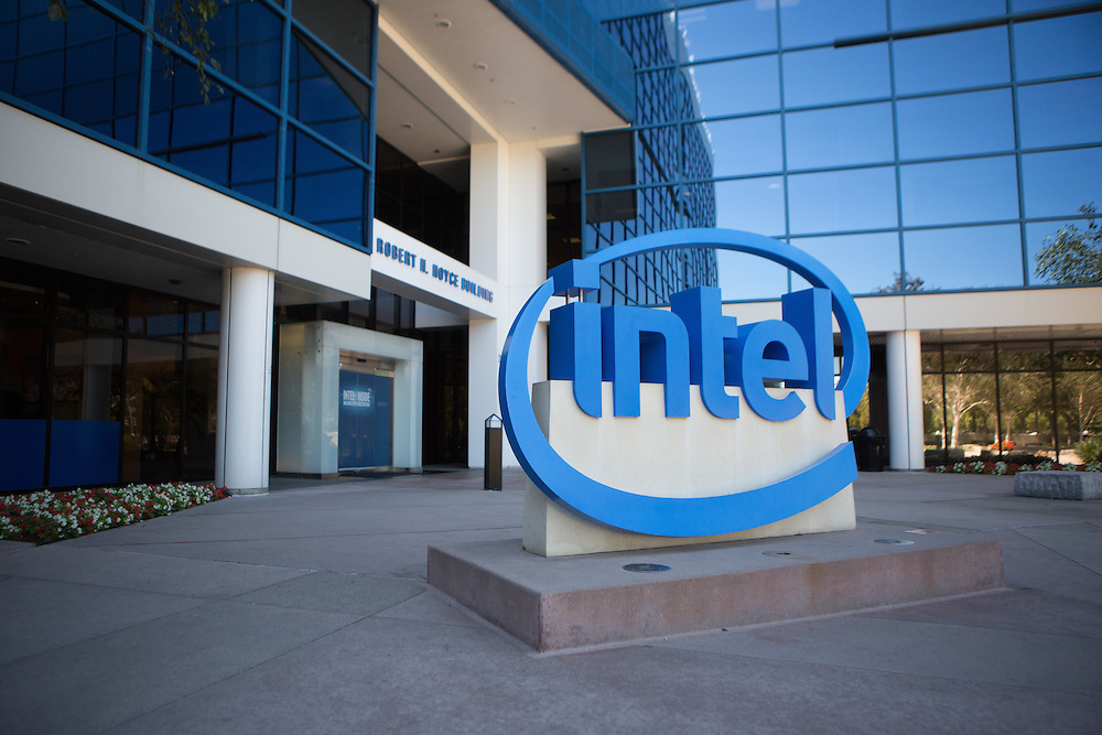 Intel headquarters in Santa Clara, California<br /> <br /> Copyright 2015 John O'Boyle<br /> john@johnoboyle.com