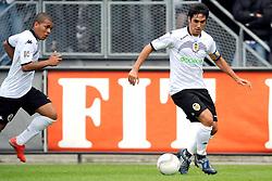 22-07-2009 VOETBAL: ADO DEN HAAG - VALENCIA CF: DEN HAAG<br /> Valencia wint met 4-1 van Den Haag / Asier Del Horno Cosgaya<br /> ©2009-WWW.FOTOHOOGENDOORN.NL