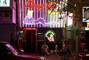Hong Kong at night, Wan Chai