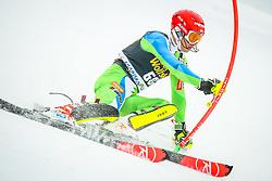 Zan Kranjec (SLO) during 1st run of Men's Slalom race of FIS Alpine Ski World Cup 57th Vitranc Cup 2018, on March 4, 2018 in Podkoren, Kranjska Gora, Slovenia. Photo by Ziga Zupan / Sportida