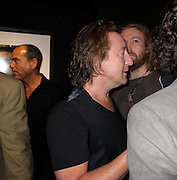 """Julian Lennon and Actor Aaron Johnson..""""Timeless"""" by Julian Lennon, Photography Exhibit Opening of John Lennon and Bono's Photographs..Morrison Hotel Gallery..New York, NY, USA..Thursday, September 16, 2010..Photo ByiSnaper.com/ CelebrityVibe.com..To license this image please call (212) 410 5354; or Email:CelebrityVibe@gmail.com ;.website: www.CelebrityVibe.com."""