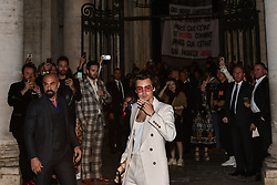 Rome, Gucci Parade at the Capitoline Museums. In the photo: Harry Styles