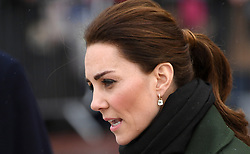 The Duchess of Cambridge during a Royal visit to Blackpool. Photo credit should read: Doug Peters/EMPICS