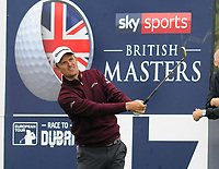Golf - 2018 Sky Sports British Masters - Thursday, First Round<br /> <br /> Justin Rose of Great Britain, on the 17th at Walton Heath Golf Club.<br /> <br /> COLORSPORT/ANDREW COWIE