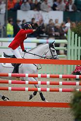 Nagel Carsten Otto (GER) - Corradina<br /> European Championship Jumping Windsor 2009<br /> © Hippo Foto - Dirk Caremans