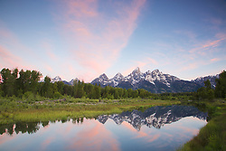 """Sunrise at Shwabackers Landing, Grand Teton National Park<br /> <br /> For production prints or stock photos click the Purchase Print/License Photo Button in upper Right; for Fine Art """"Custom Prints"""" contact Daryl - 208-709-3250 or dh@greater-yellowstone.com"""