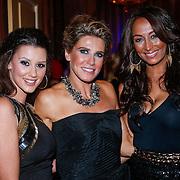 NLD/Amsterdam/20121112 - Beau Monde Awards 2012, Danielle Frederiks - van Aalderen, Danielle Oerlemans - Overgaag en Maria Tailor