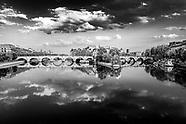 Seine river in confinement