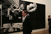 Harry Blain, Planit- Exhibition of work by Ian Munroe. Haunch of Venison. London. 1 March 2007.  -DO NOT ARCHIVE-© Copyright Photograph by Dafydd Jones. 248 Clapham Rd. London SW9 0PZ. Tel 0207 820 0771. www.dafjones.com.