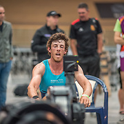 Nathan Flannery 5000m Heavyweight 5K race 10:30am<br /> <br /> <br /> www.rowingcelebration.com Competing on Concept 2 ergometers at the 2018 NZ Indoor Rowing Championships. Avanti Drome, Cambridge,  Saturday 24 November 2018 © Copyright photo Steve McArthur / @RowingCelebration