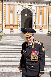 stock photo of a russian military officer