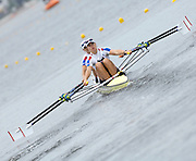 Poznan, POLAND,  GBR W2X, Bow, Elise LAVERICK and Anna BEBINGTON, move away from the start in their morning heat, at the 2008 FISA World Cup. Rowing Regatta. Malta Rowing Course on Friday, 20/06/2008. [Mandatory Credit:  Peter SPURRIER / Intersport Images] Rowing Course:Malta Rowing Course, Poznan, POLAND