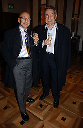 Left to right, REUBEN BERG and STEPHEN BAYLEY at a party to celebrate the publication of 'Dancing into Waterloo' by Nick Foulkes held at The Westbury Hotel, Conduit Street, London on 14th December 2006.<br /><br />NON EXCLUSIVE - WORLD RIGHTS